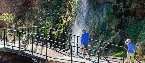 Hike the Fall River Freedom Trail