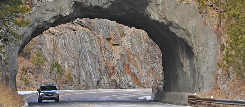 Gateway to Scenic Roadways
